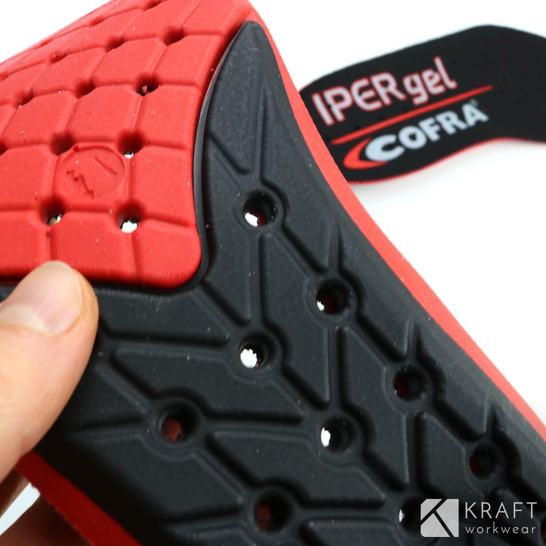 Semelle ergonomique en gel pour chaussure de sécurité