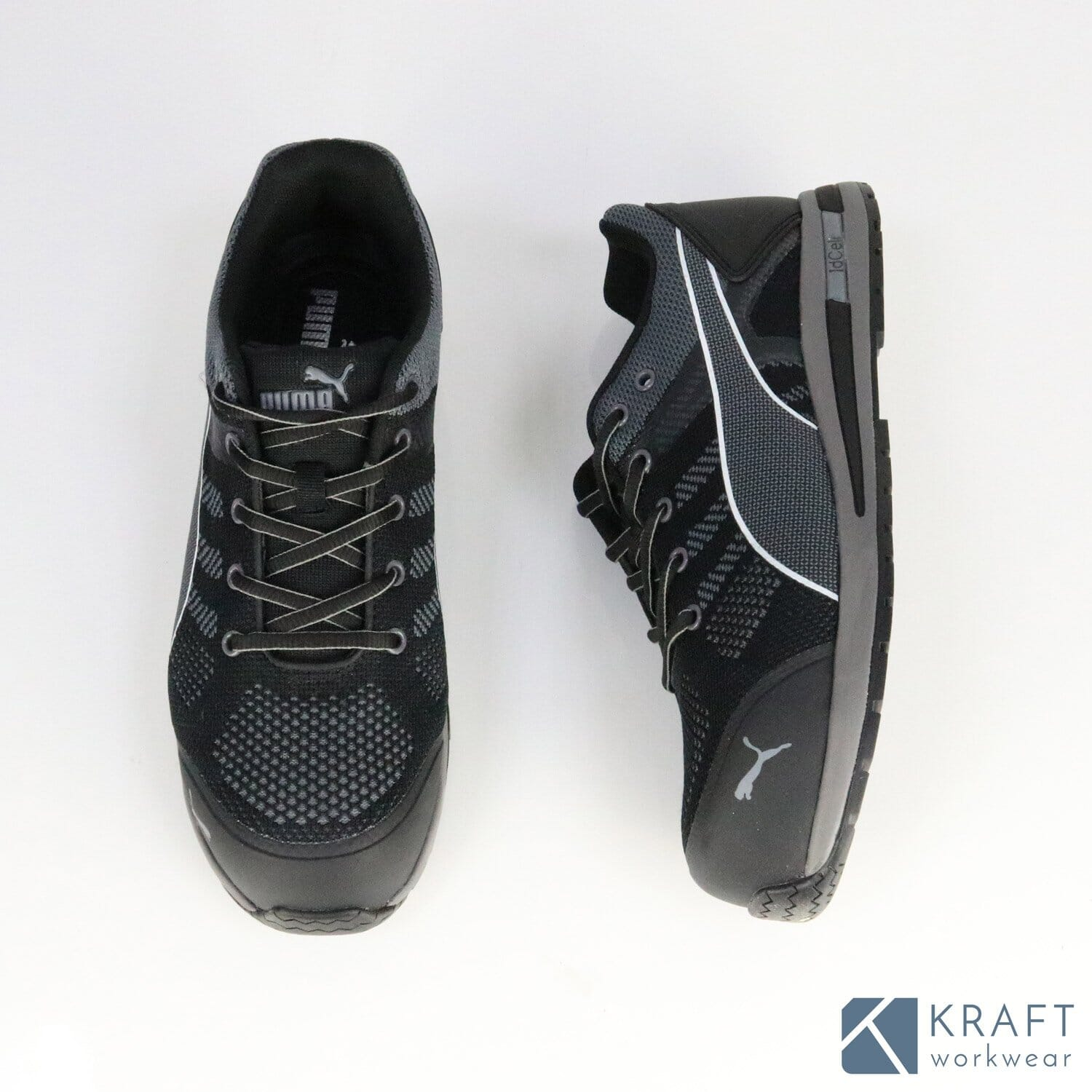 Chaussures de sécurité S1P ELEVATE KNIT BLACK LOW Puma Safety