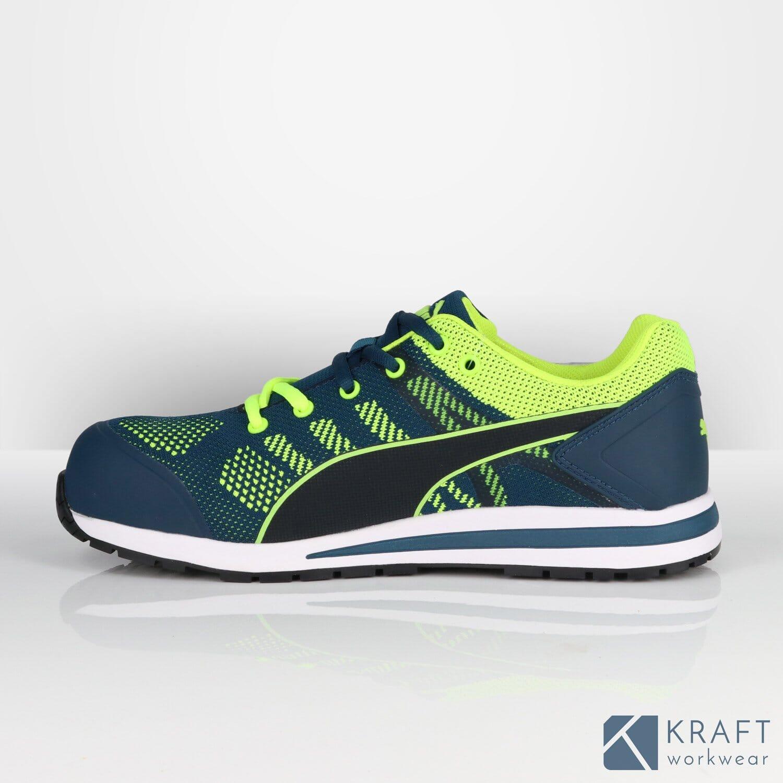 Chaussure de sécurité Puma S1P Elevate Knit Green Kraft