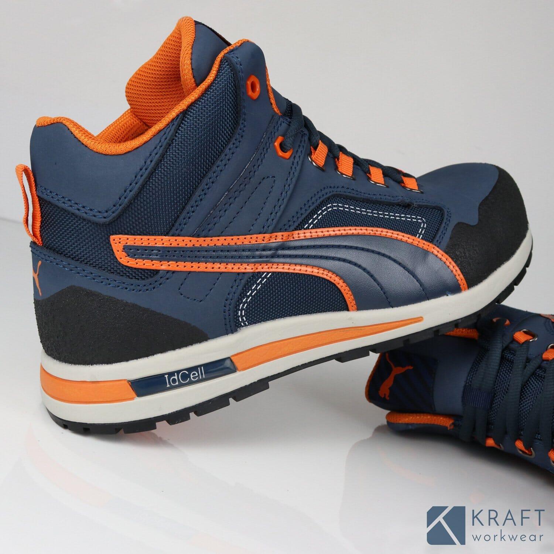 Basket de sécurité montante Puma Crosstwist Mid - Kraft Workwear