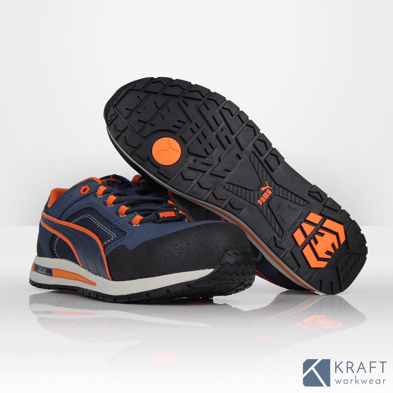 Basket de sécurité basse Puma Crosstwist Low - Kraft Workwear