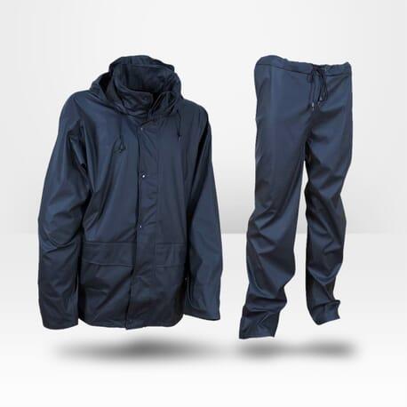 Veste et pantalon de pluie marine Cofra