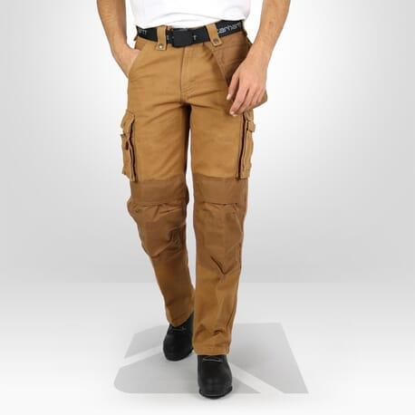 Pantalon multi poche Carhartt marron