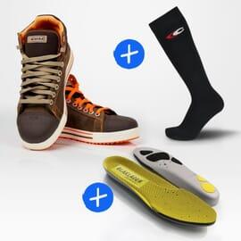 Pack Conférence + Semelles - 1 paire de chaussettes offertes !