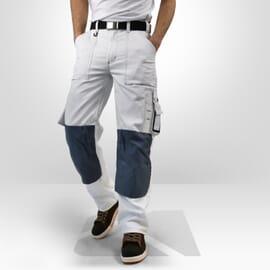Pantalon de peintre blanc Blaklader