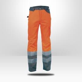 Pantalon haute visibilité Cofra orange fluo