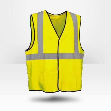 Gilet jaune Cofra haute visibilité