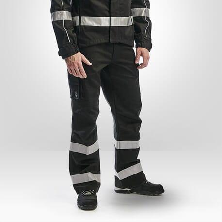 Pantalon transport HV Blaklader noir