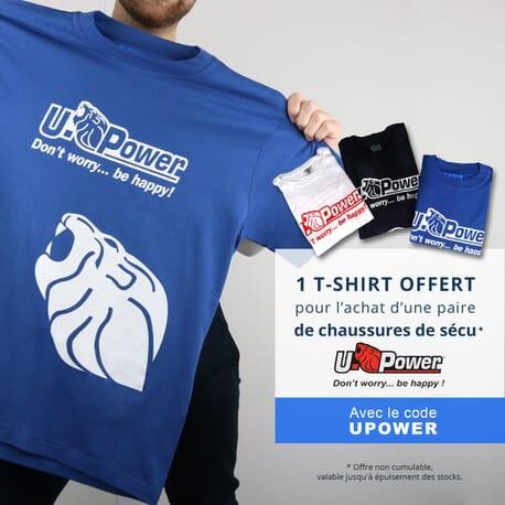 T-shirt U-Power offert