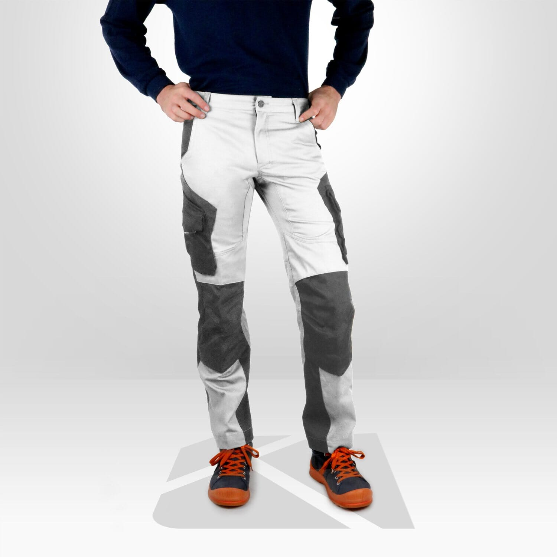 vetement travail pantalon blanc castorama niort