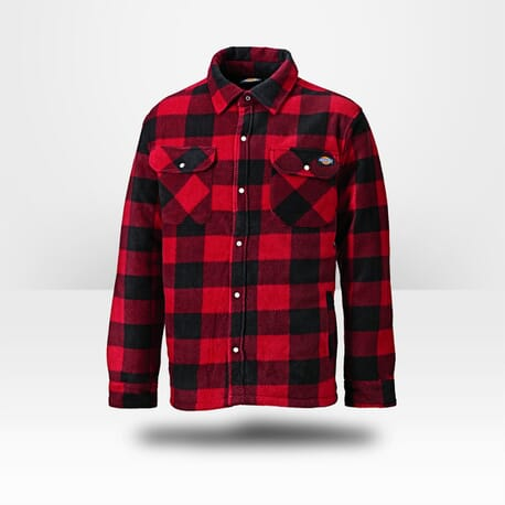 Chemise candienne doublée Dickies Portland rouge
