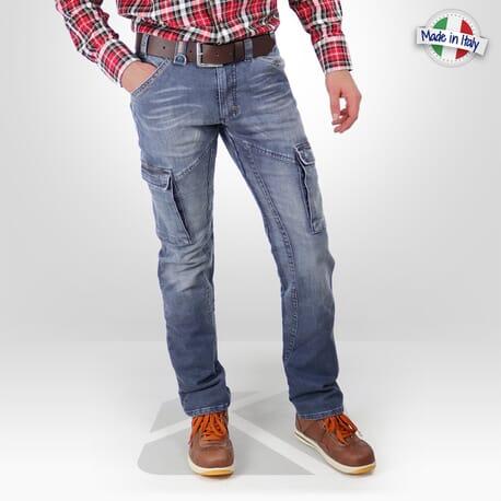 Pantalon de travail en jeans Dike Partner made in Italy