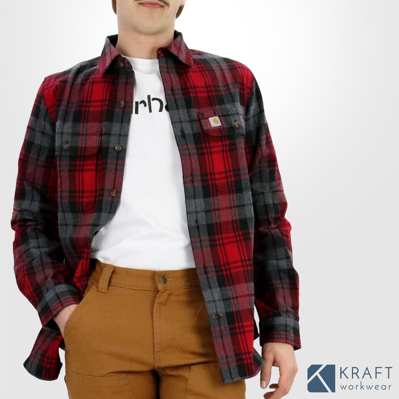 Chemise bûcheron flanelle Carhartt Kraft Workwear
