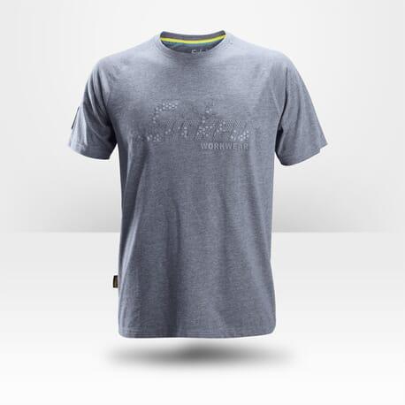 T-shirt homme Snickers Workwear bleu gris