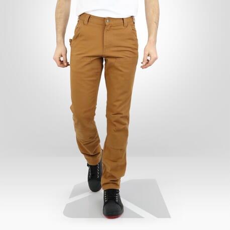 Pantalon de travail Carhartt renforcé marron