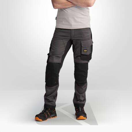 Pantalon de travail stretch Snickers gris