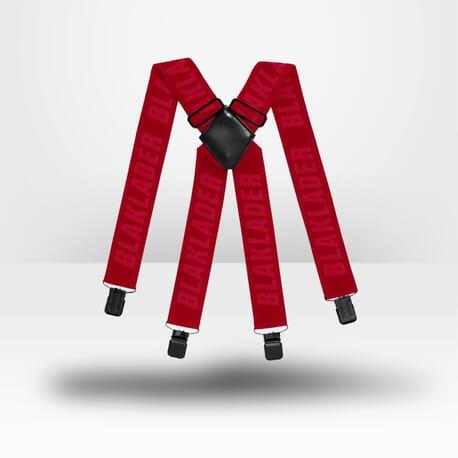 Bretelles pour pantalon de travail Blaklader rouge
