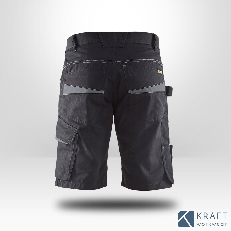 Kraft De Ripstop Blaklader Travail Short Workwear jq5L3A4R