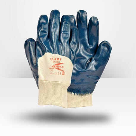 Gants de manutention lourde en nitrile Cofra Clamp