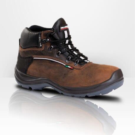 Chaussures de sécurité en cuir hydrofuge isolantes Giasco Alpi