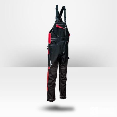 Salopette de travail en jean noir Cofra Redonda